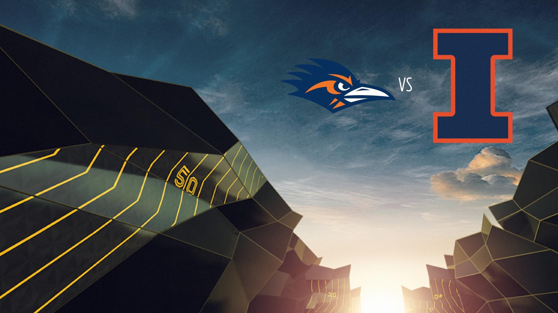College Football - Texas-San Antonio at Illinois seriesDetail