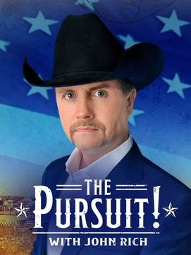 The Pursuit! with John Rich dcg-mark-poster