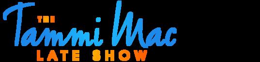 The Tammi Mac Late Show logo