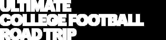 Ultimate College Football Road Trip logo