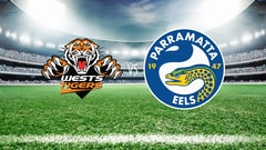 NRL Rugby - Wests Tigers vs. Parramatta Eels